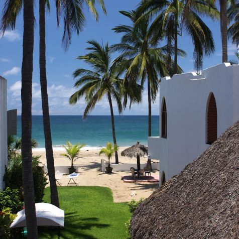 Located on the north end of San Pancho's beautiful beach